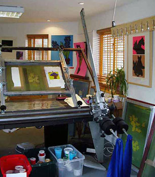 Photo of the Shed, Bill's Suffolk studio